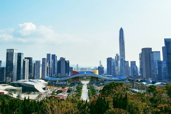 shenzhen china cities best air quality