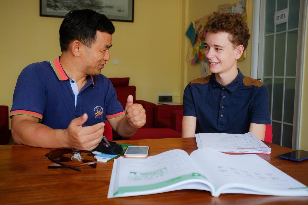 Having conversations 1 - Volunteer in China