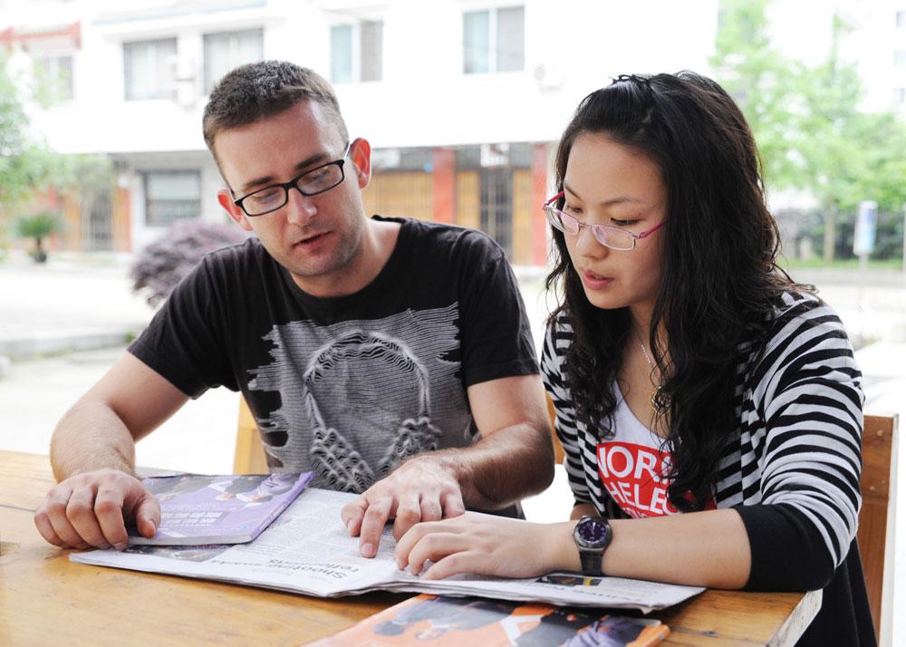 Having conversations 5 - Volunteer in China