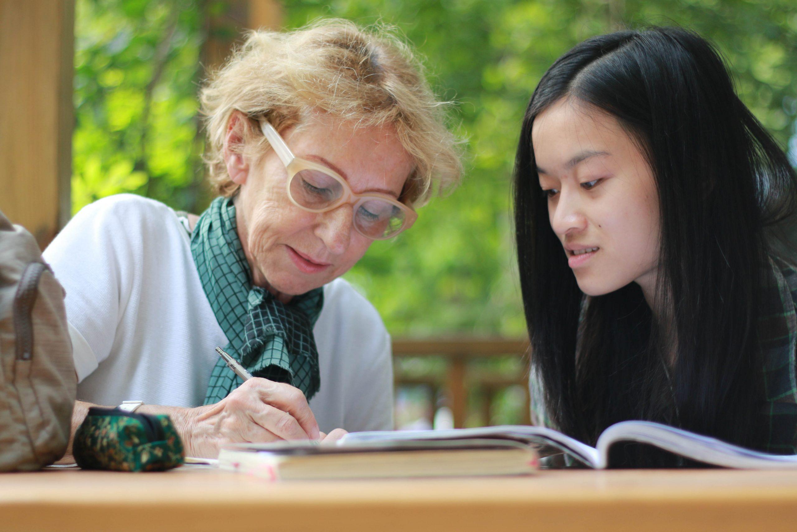Having conversations 6 - Volunteer in China
