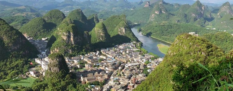 hiking-yangshuo-tv-tower-to-see-the-view