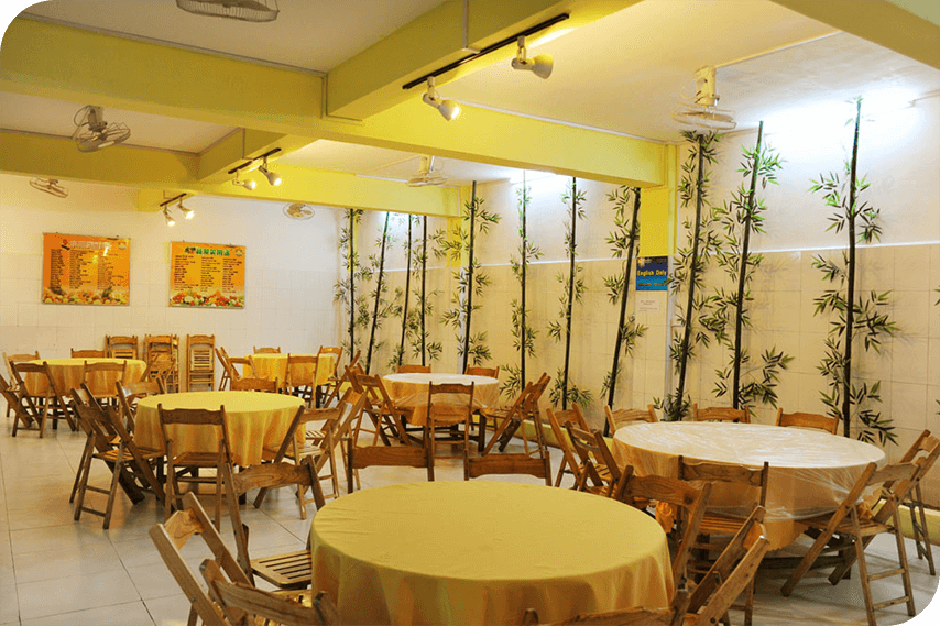 Omeida Chinese Academy's Canteen