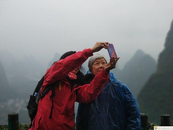 Selfie-taking-on-Husband-Mountain