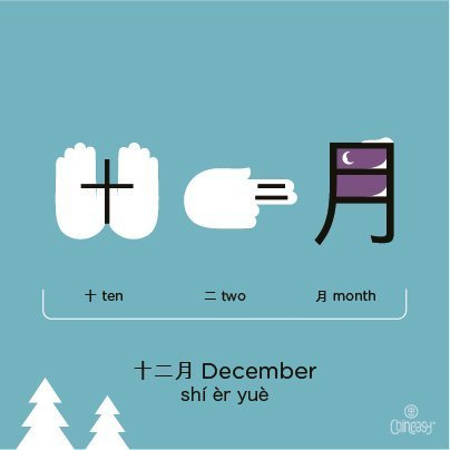 december-in-chinese