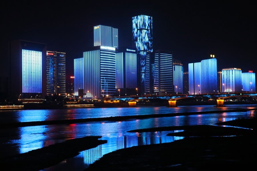 Fuzhou-city-in-China-with-clean-air