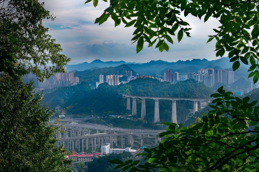 Guiyang-far-from-Beijing-and-smoggy air
