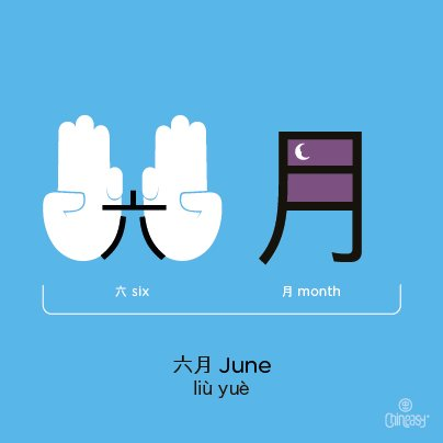 june-in-chinese