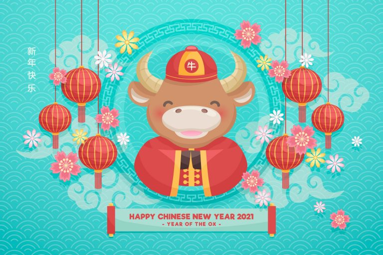 Happy Year of the Ox 2021