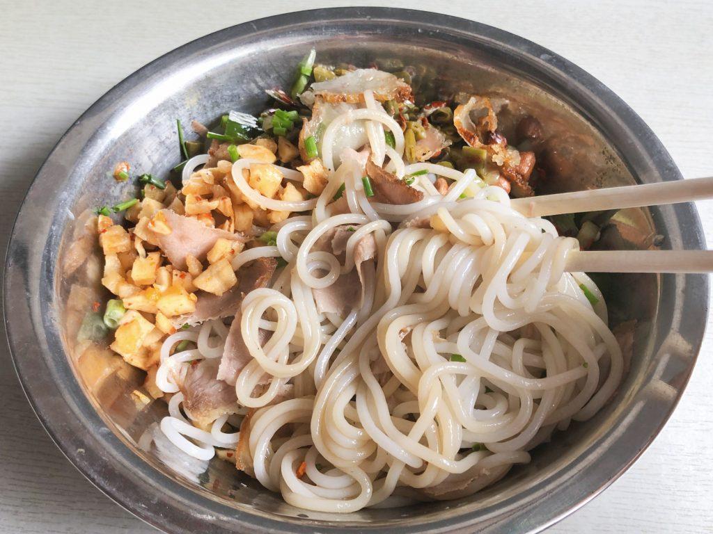 yangshuo food guilin rice noodles